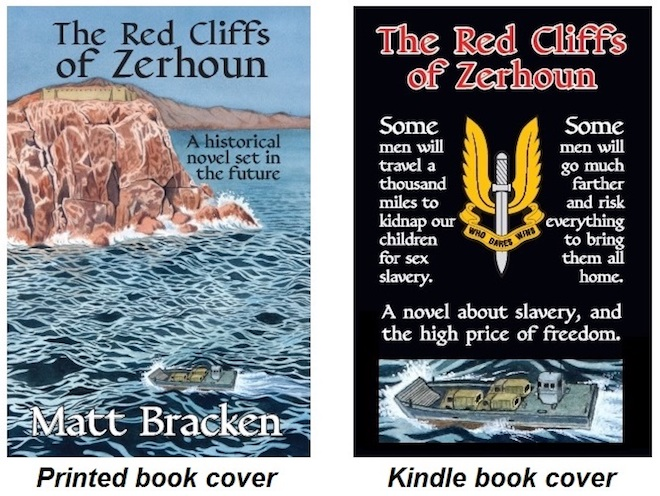 Red Cliffs of Zerhoun book cover